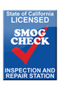 State of California Licensed Smog Check Inspection & Repair Station